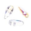 Preciosa Chilli Beads 4X11mm Crystal Aurora Borealis